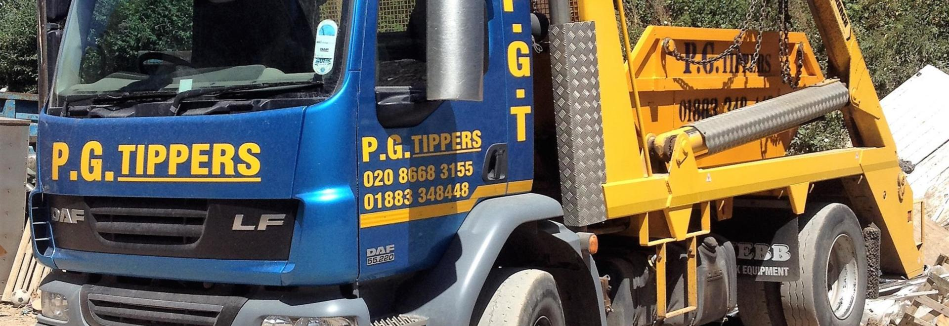 pg tippers skip hire in caterham local surrounding areas. Black Bedroom Furniture Sets. Home Design Ideas